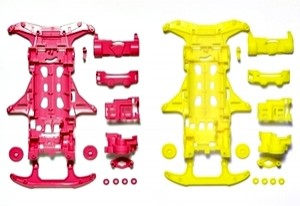 [95356]  VS Fl Chassis Pink Yellow
