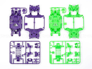 [95234] MS Chassis Set (Purple/Green)