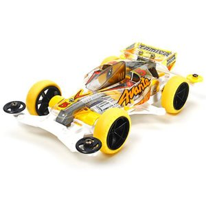 TAMIYA 95060 Avante Jr. Clear Body - VS Chassis Yellow Special 특별한정판
