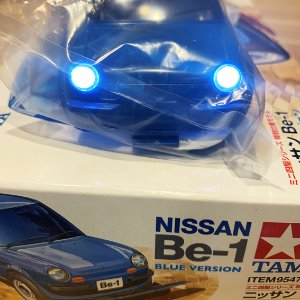 [LED작업]95477 Nissan Be-1 Blue Version 타미야 미니카 TAMIYA MINI4WD