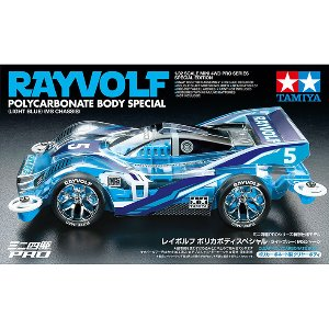 tamiya mini4wd 95572 Rayvolf PC Body SP (LBlu) (MS) 타미야 미니카 클리어바디