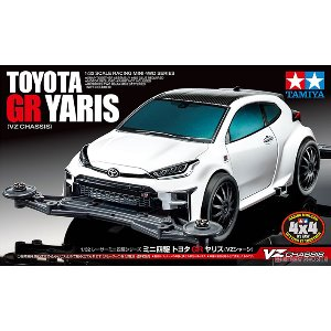 18097 Toyota GR Yaris VZ Chassis Package1  타미야 미니카 야리스