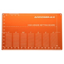 [Arrowmax] High Grade Setting Board For 1/32 Mini 4WD (Orange) 프리미엄공구 셋팅보드