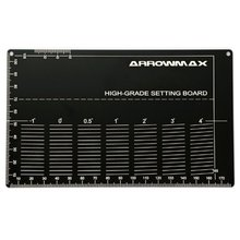 [Arrowmax] High Grade Setting Board For 1/32 Mini 4WD(Black) 프리미엄공구 셋팅보드