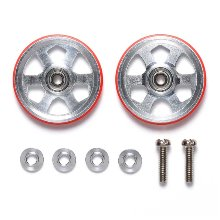 [95513]19mm Aluminum Ball-Race Rollers 타미야 미니카 6각 프라롤러 Tamiya Mini4WD